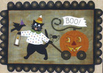 "BOO KITTY ON PARADE (WAP) 18"" x 26"" All Through The Night"