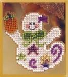 MHAH53 Mill Hill Seasonal Ornament / Pin Kit Ghostly Fun (2002)