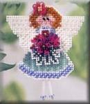 MHSB78 Mill Hill Seasonal Ornament / Pin Kit Angeline (2003)MHSB78