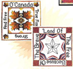 09-1676 Land Of The Free by Xs And Ohs 86w x 86h