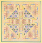 SPRING FLING (H) 318 x 318  DebBee's Designs Counted Canvas Pattern