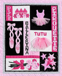 Ballerina 44 x 36  Bobbie G Designs Quilting & Sewing