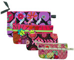 Eeny Meeny Miny & Moe Access Bags Eazy Peazy Quilts Quilting & Sewing