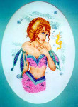 01-2255 Mermaid & Sea Prince by Xs And Ohs