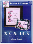 03-1003 Roses & Violets by Xs And Ohs