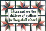 06-2494 Quilted Quips I (Children Of Quilters) by Xs And Ohs