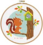 PNV144031 Vervaco Kit Squirrel in Tree