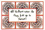 06-2495 Quilted Quips II (Old Quilters) by Xs And Ohs