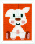 PNV155240 Vervaco Kit Doggy - Long Stitch