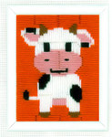 PNV155251 Vervaco Kit Cow - Long Stitch