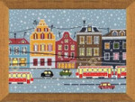 RL1489 Riolis Cross Stitch Kit Tram Route