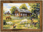 RL1501 Riolis Cross Stitch Kit Afternoon in the Country