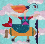 W101 Melissa Prince 6 x 6 Airplane 18 Count