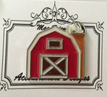 Barn Large Classic MAGNET Accoutrement Designs