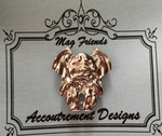 Accoutrement Designs Needle Minder Magnet Gargoyle