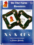 03-1960 Rooster Pillows by Xs And Ohs