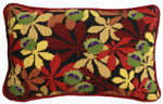 Conkers Black Lumbar Pillow One Off Needlework kit