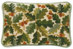 Acorn Ecru Lumbar Pillow One Off Needlework kit