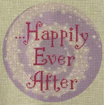 "LL148 Labors Of Love Happily Ever After 18	Mesh 6"" Round"