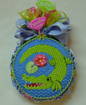 "LL156D Labors Of Love Insta Gator 18 Mesh 4"" round	Shown Finished"