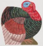 LL209 Labors Of Love Small Dimensional Turkey 18 Mesh 6x6.5 (2), 6.5x6.25, 6.5x2