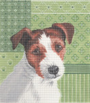 LL414M Labors Of Love Jack Russell 18 Mesh 7.5x8.5