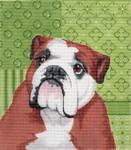 LL414Q Labors Of Love English Bulldog 18 Mesh 7.5x8.5
