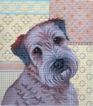 LL414S Labors Of Love Wheaten Terrier 18 Mesh 7.5x8.5