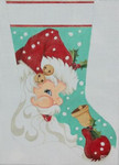 HO1146  11 x 17 18 Mesh STOCKING Raymond Crawford Designs