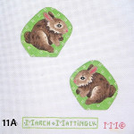 "11A MM Designs EASTER Size: 3"" x 3"""