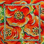 67G 7 x 7  13 mesh   Poppies #1 MM Designs