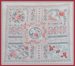 Brodeuse Bressane BB-DR Digion Roses With Silk Pack