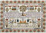 Moira Blackburn Samplers MBGLT Growing Like A Tree Stitch Count: 331 x 236