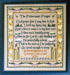 Moira Blackburn Samplers MBFisherman Fisherman's Prayer Stitch Count: 170 x 181