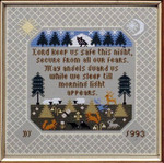 Moira Blackburn Samplers MBTP The Prayer Stitch Count: 147 x 147