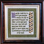 Moira Blackburn Samplers MBIBS Irish Blessing Sampler Stitch Count: 148 x 148
