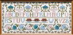 Moira Blackburn Samplers MBAS Alphabet Sampler Stitch Count: 269 x 119