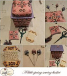 MTV-ALSSB  MTV Designs A Little Spring Sewing Basket