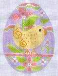 CH-72 Chick Egg 2 ¾ x 3 ¾  18 Mesh Danji Designs CH Designs