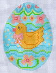 CH-69 Duck Egg stitch guide available  2 ¾ x 3 ¾ 18 Mesh Danji Designs CH Designs