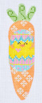 CH-68 Chick in Egg Carrot 1 ¼ x 5 ¼ 18 Mesh Danji Designs CH Designs