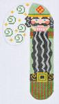 CH-60 Nutcracker Candy Cane 2 ¾ x 5 ¼ 18 Mesh Danji Designs CH Designs
