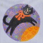 """CH-122 Black Cat 3 ½"""" Round 18 Mesh Danji Designs CH Designs"""