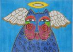 LB-113 Angel Cat 7 x 5 13 Mesh Danji Designs LAUREL BURCH