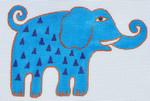 LB-101 Elephant 6 x 4 18 Mesh Danji Designs LAUREL BURCH