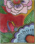 LB-92 Butterfly Flower (fits Lee's IPad Case) 5 x 6 18 Mesh Danji Designs LAUREL BURCH