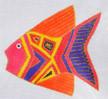 LB-76 Pink Fish 4 ½ x 4 ½ 18  Mesh Danji Designs LAUREL BURCH