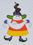 LD-50 Ghost Tugs Candy Corn 2 ½ x 3 ½ 18 Mesh  LAINEY DANIELS