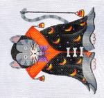 LD-07 Dracula Cat 4 ½ x 4 ½ 18 Mesh LAINEY DANIELS