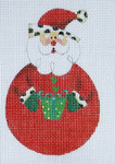 LD-11 Rounded Santa 3 x 4 ½ 18 Mesh LAINEY DANIELS